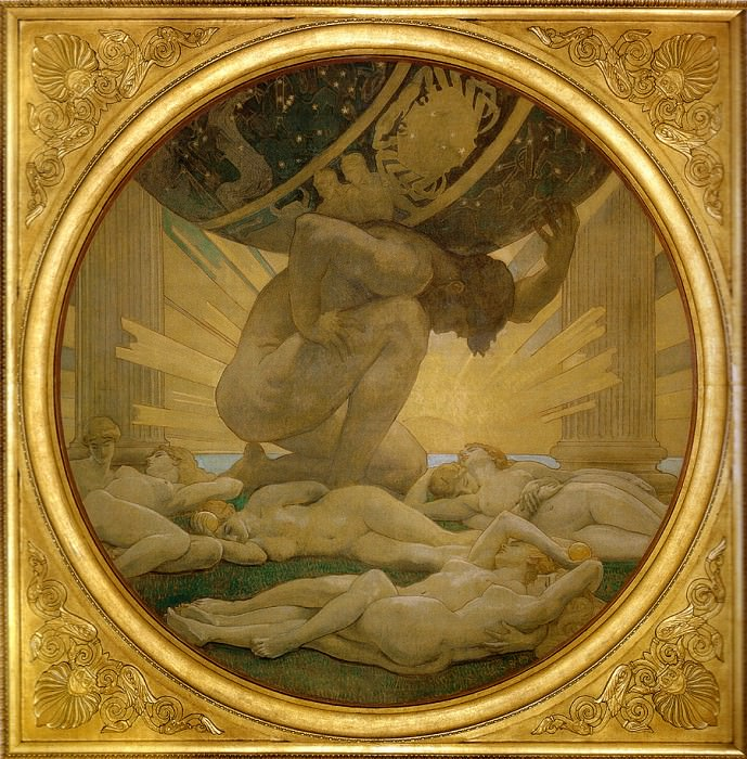 Atlas and the Hesperides. John Singer Sargent