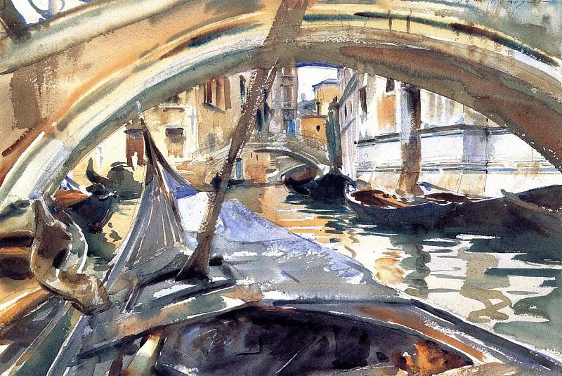 Rio de Santa Maria Formosa. John Singer Sargent