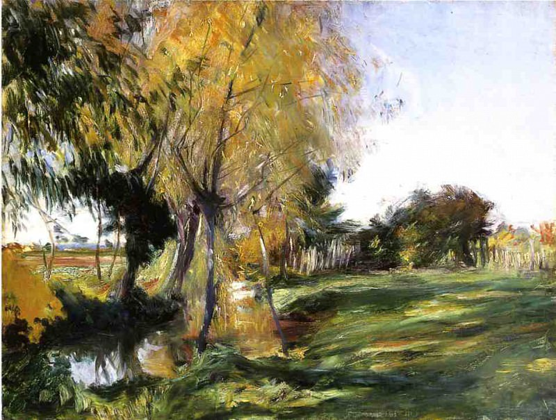 Landscape at Broadway. John Singer Sargent