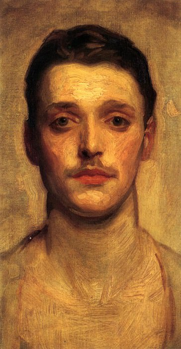 Study of a Young Man. John Singer Sargent