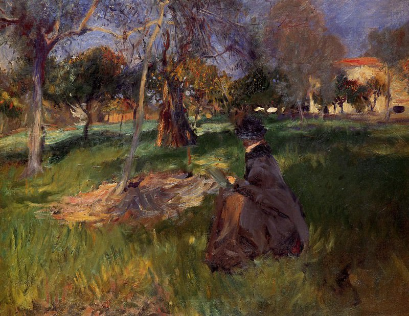 In the Orchard. John Singer Sargent