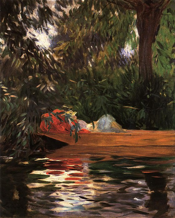 Under the Willows. John Singer Sargent