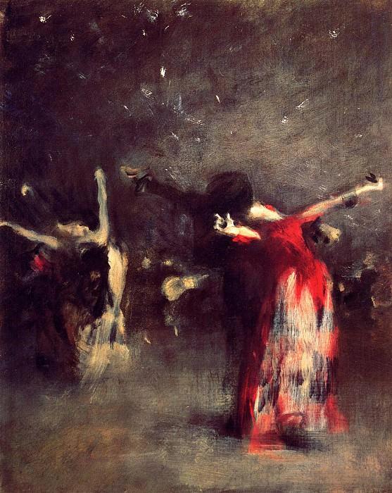 Study for The Spanish Dance. John Singer Sargent