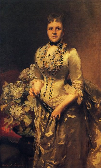 Mrs. Jacob Wandell. John Singer Sargent