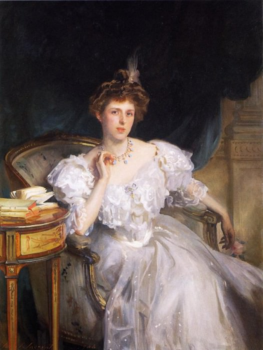 Mrs. William George Raphael (Margherita Goldsmid). John Singer Sargent