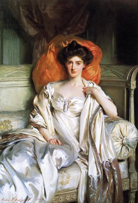 Mrs. Huth Jackson (Clara Annabel Caroline Grant Duff). John Singer Sargent