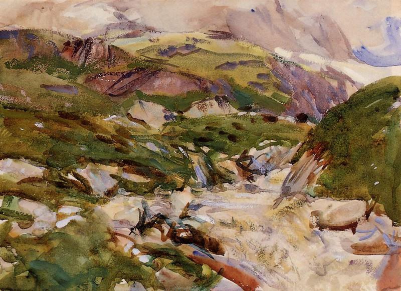 The Simplon. John Singer Sargent