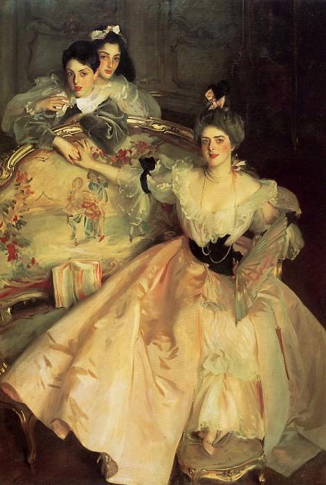 Mrs. Carl Meyer and Her Children. John Singer Sargent