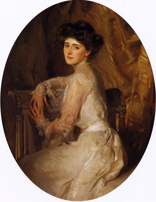 Mrs. Adolph Hirsh. John Singer Sargent