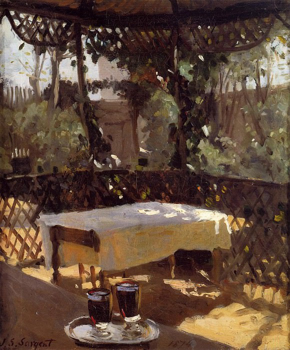 Wineglass. John Singer Sargent