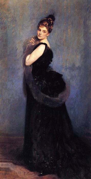 Mrs. George Gribble. John Singer Sargent