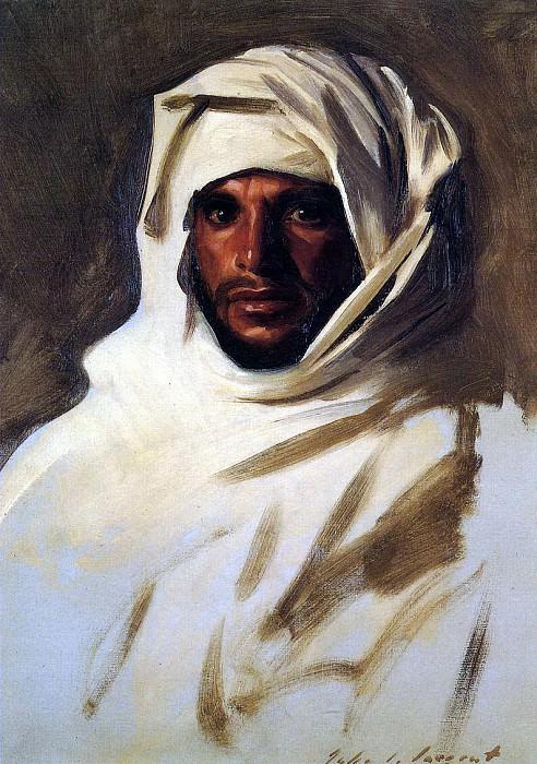 A Bedouin Arab. John Singer Sargent