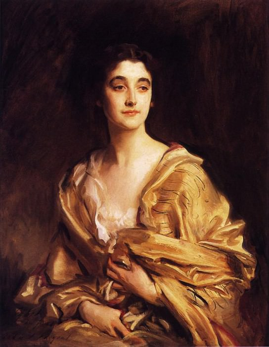 The Countess of Rocksavage (Sybil Sassoon). John Singer Sargent