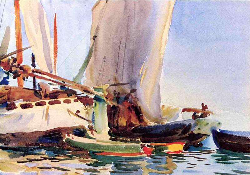 Giudecca. John Singer Sargent