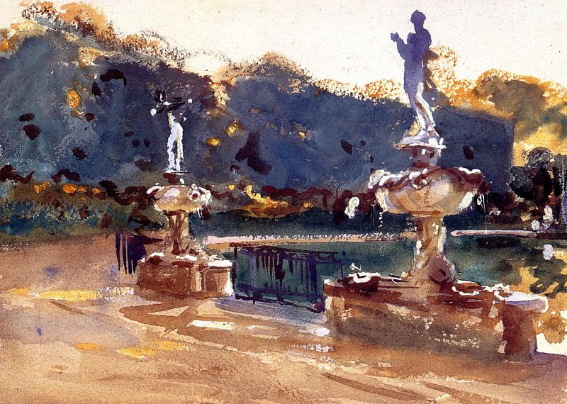 Boboli Gardens. John Singer Sargent