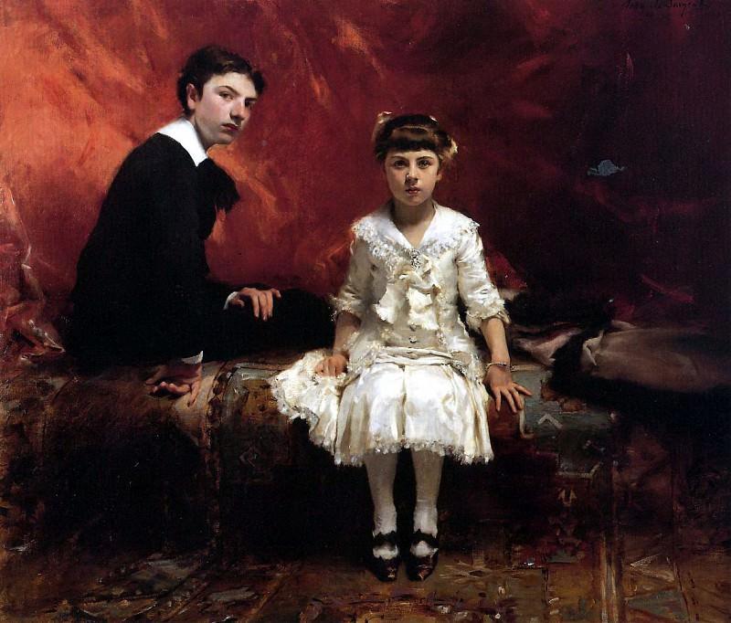 Edouard and Marie-Louise Pailleron. John Singer Sargent