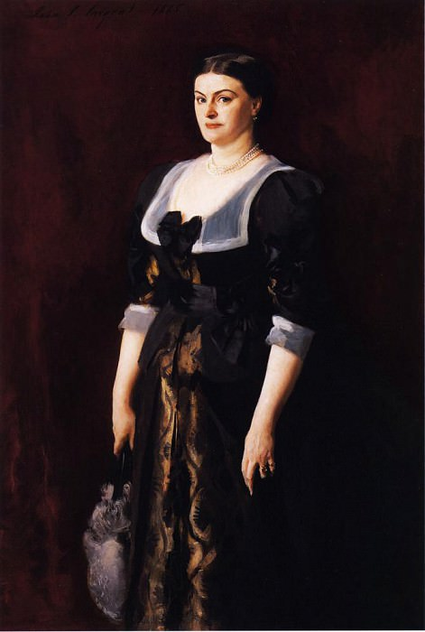 Mrs. Alice Mason. John Singer Sargent