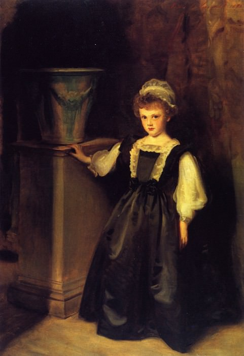 The Honorable Laura Lister. John Singer Sargent
