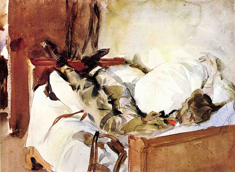 In Switzerland. John Singer Sargent