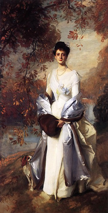 The Honourable Pauline Astor. John Singer Sargent