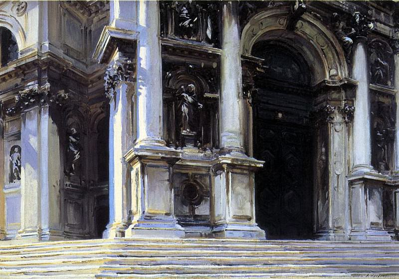Santa Maria della Salute. John Singer Sargent