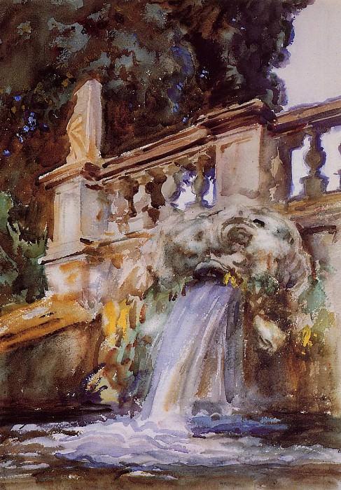 Villa Torlonia, Frascati. John Singer Sargent