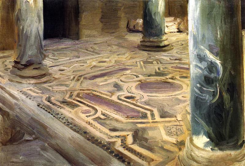 A Mosque, Cairo. John Singer Sargent