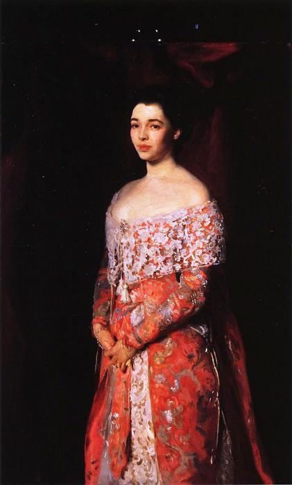 Mrs. Leopold Hirsch. John Singer Sargent