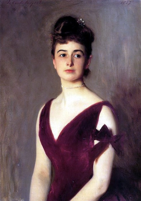 Mrs. Charles E. Inches nee Louise Pomeroy. John Singer Sargent