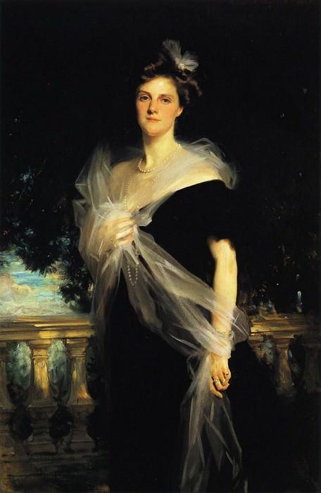 Mrs. Harold Harmsworth. John Singer Sargent