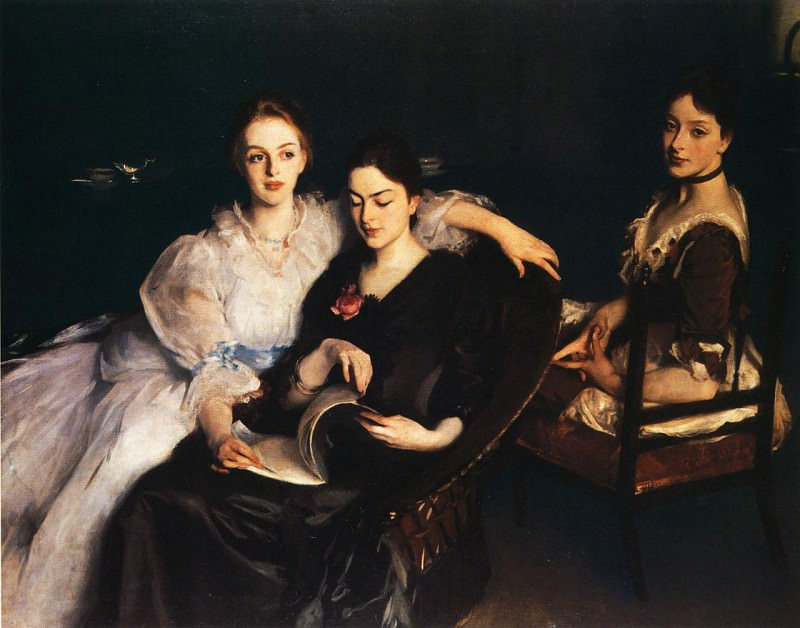 The Misses Vickers. John Singer Sargent