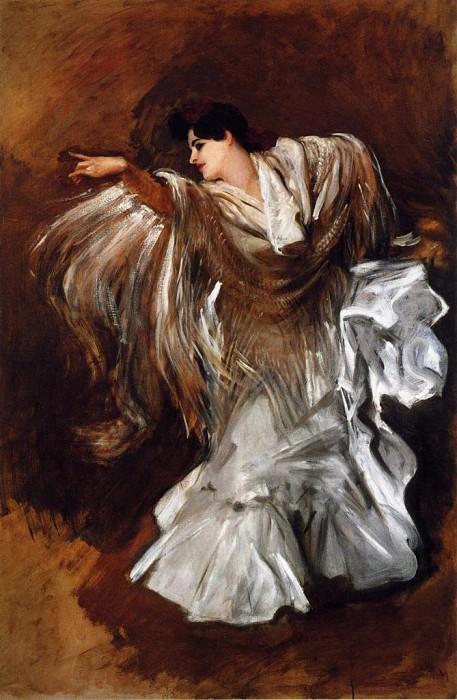 La Carmencita. John Singer Sargent