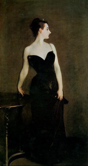 Madame X (Madame Pierre Gautreau). John Singer Sargent