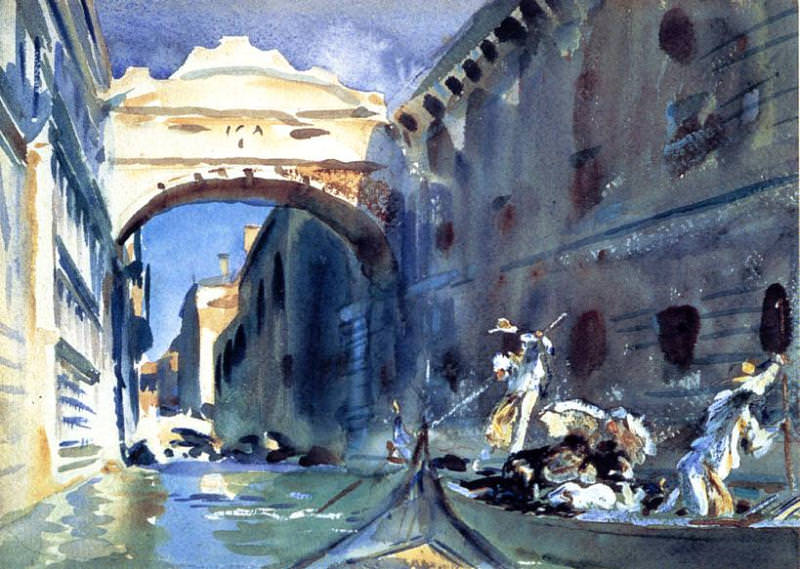 Bridge of Sighs. John Singer Sargent