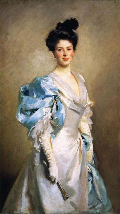 Mrs. Joseph Chamberlain. John Singer Sargent