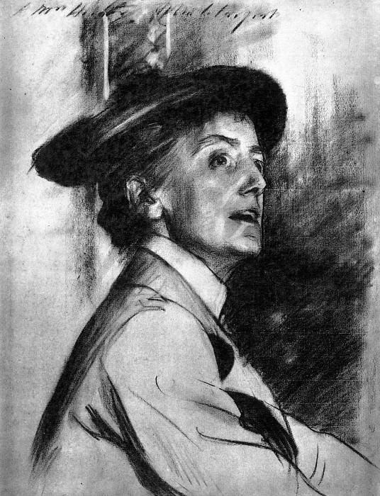 Ethel Smyth. John Singer Sargent