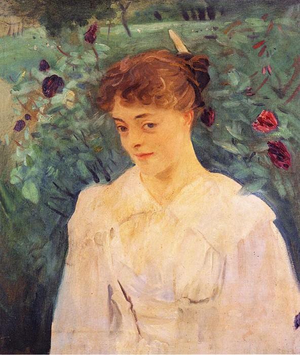 Elsie Palmer. John Singer Sargent