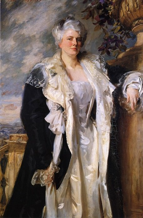 Mrs. Ernest Hills. John Singer Sargent