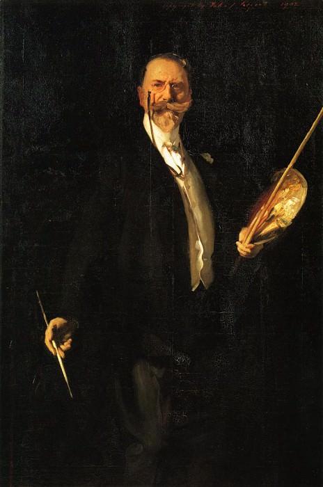 William Merritt Chase. John Singer Sargent