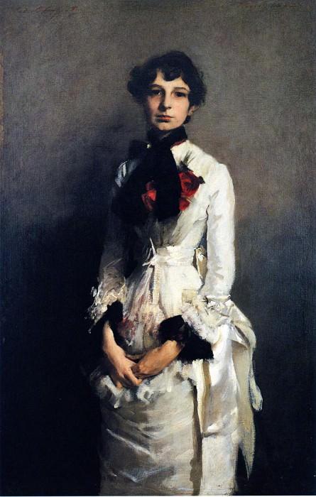 Isabel Valle. John Singer Sargent