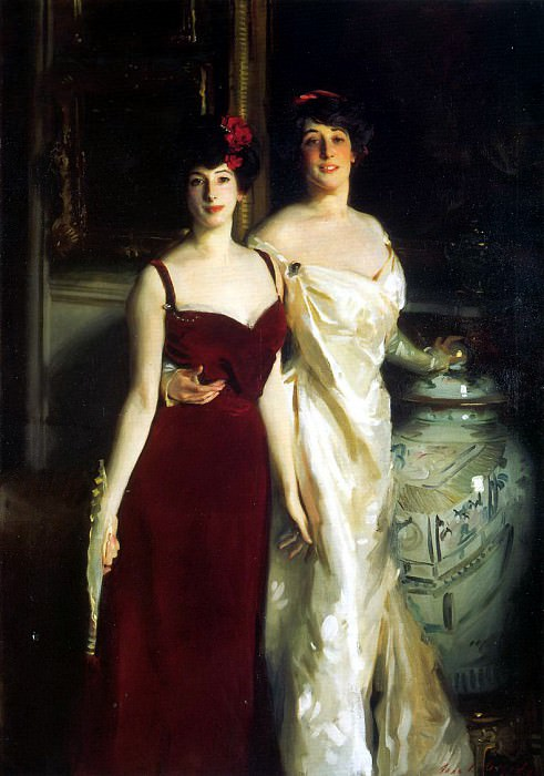 Ena and Betty, Daughters of Asher and Mrs. Wertheimer. John Singer Sargent