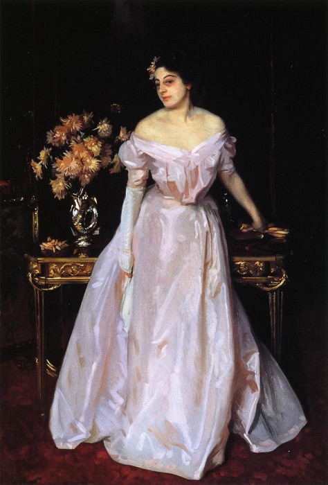 Hylda, Daughter of Asher and Mrs. Wertheimer. John Singer Sargent