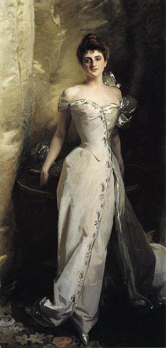 Mrs. Ralph Curtis (Eliza De Wolfe Colt). John Singer Sargent