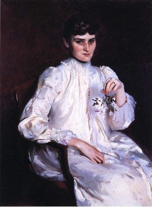 Mrs. Edmond Kelly. John Singer Sargent