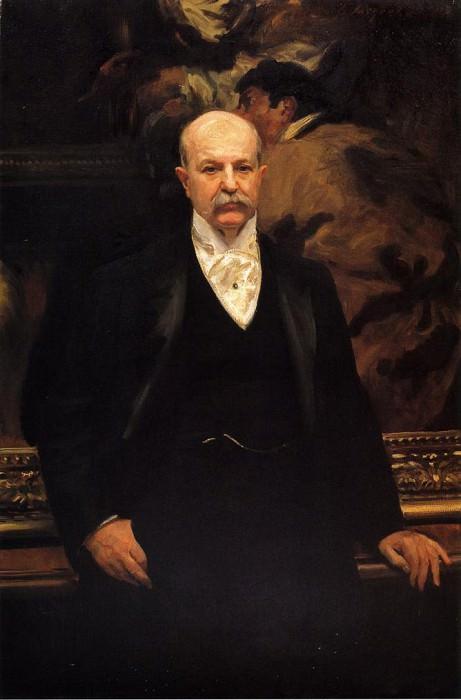 Peter A. B. Widener. John Singer Sargent