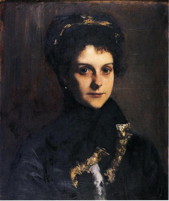 Mademoiselle Boussenet-Duclos. John Singer Sargent
