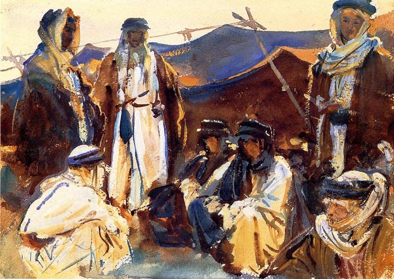 Лагерь бедуинов. Джон Сингер Сарджент