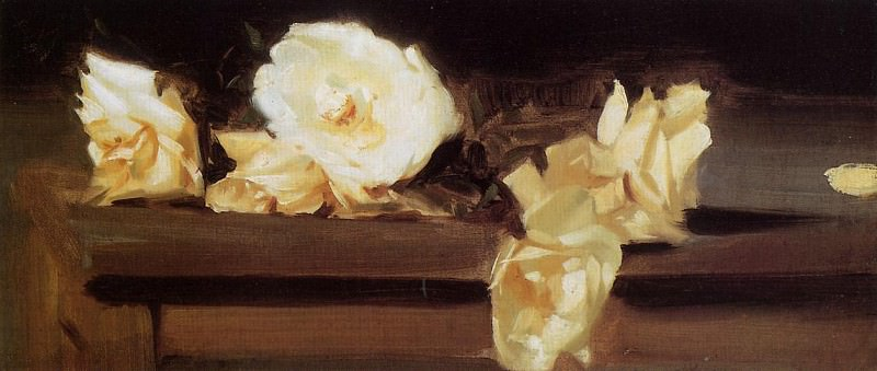 Roses. John Singer Sargent