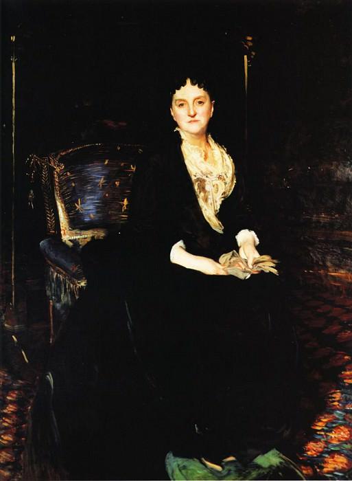 Mrs. William Henry Vanderbilt. John Singer Sargent