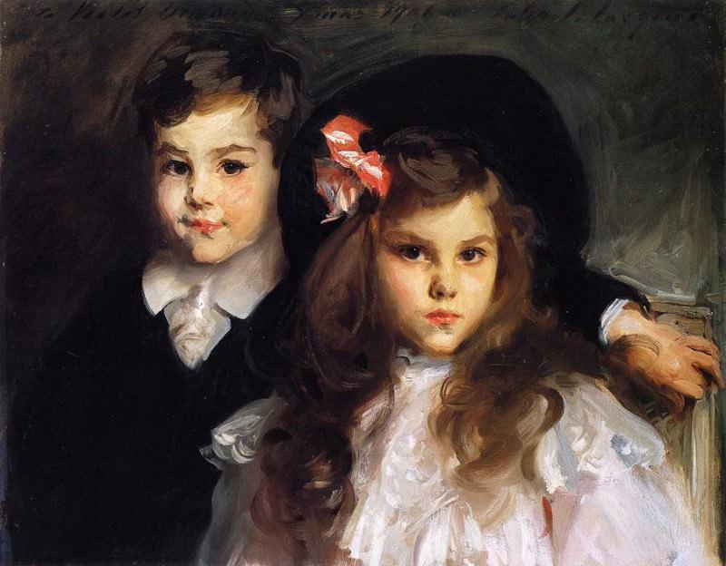 Conrad and Reine Ormand. John Singer Sargent